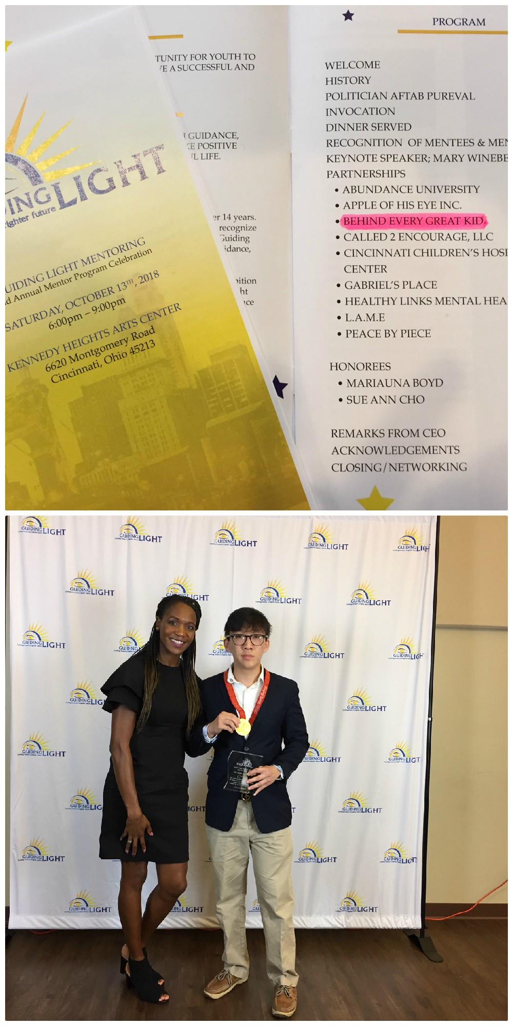 Guiding Light Mentoring Award