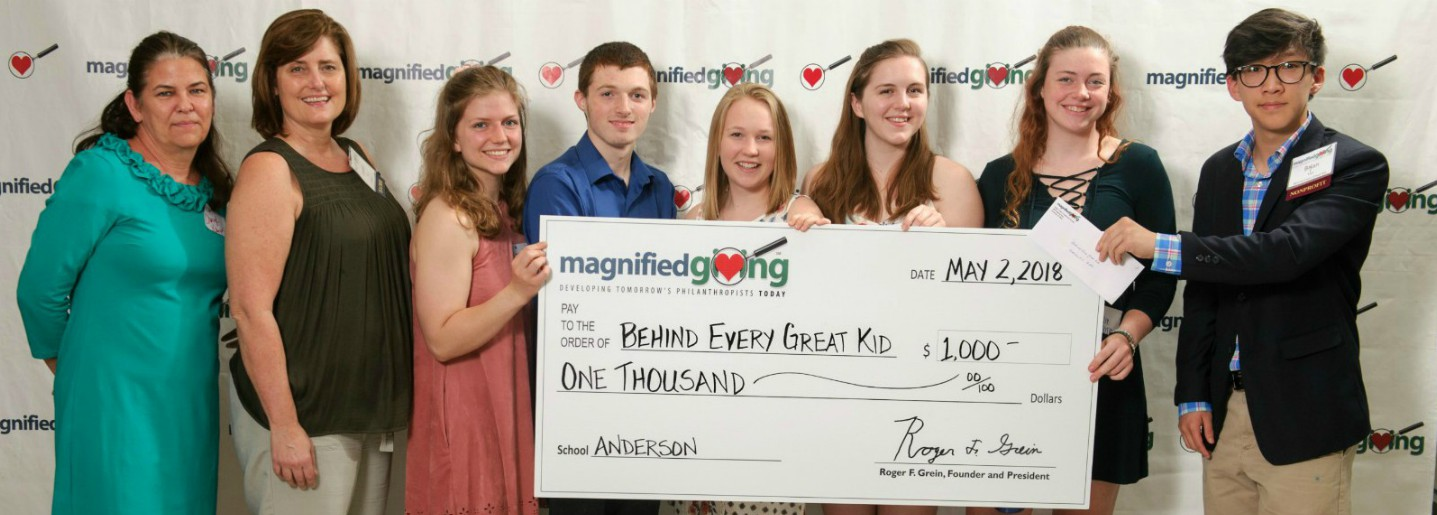 Magnified Giving Ceremony Photo
